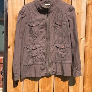 DKNY Jeans Light weight jacket Large Olive green